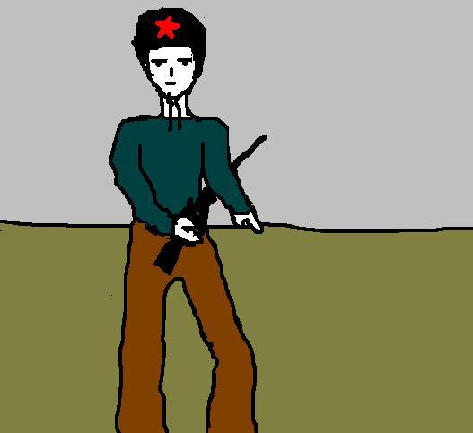 рисунок солдата