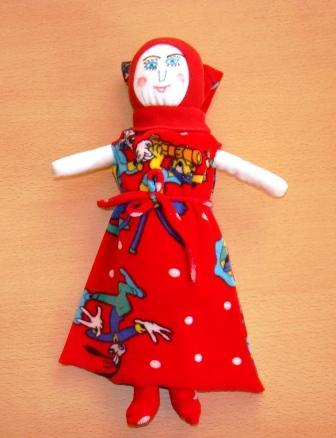 Куклы из колготок 54
