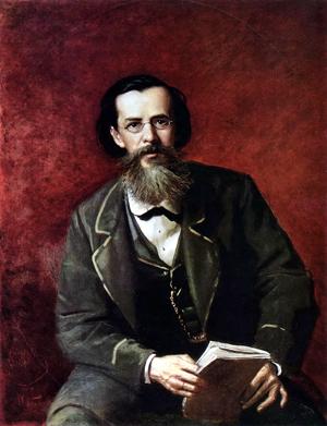 А.Перов. Портрет А.Н.Майкова, 1872. (Источник: Википедия)