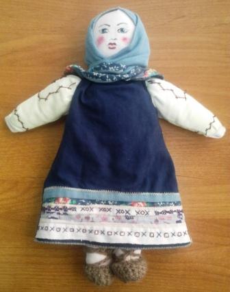 Кукла моей бабушки